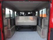 BOXER Furgon L2H1 tudi zaščita sedežne klopi