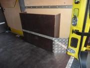 Master III prevoz plina za gospodinjstva-kolotek z zabojem za opremo