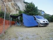 TRAFIC platnena tenda